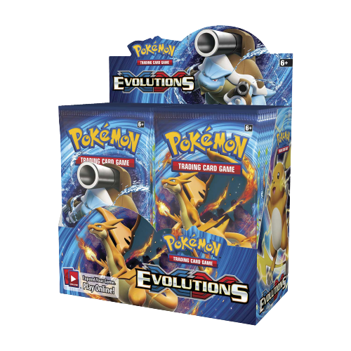 XY-Evolutions Booster Display
